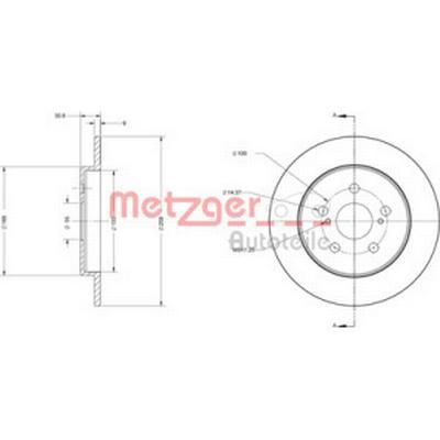Metzger 6110617