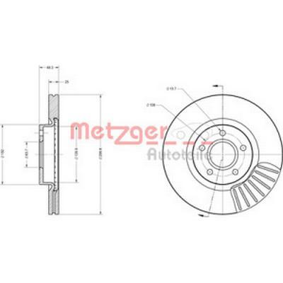 Metzger 6110162
