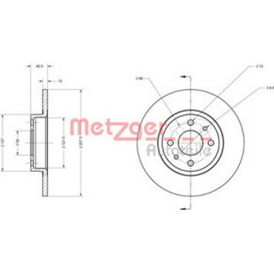 Metzger 6110124