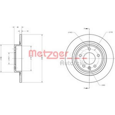 Metzger 6110247
