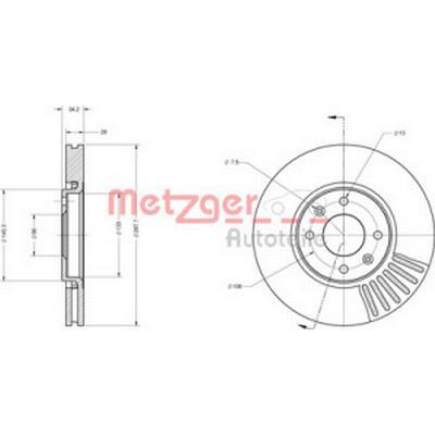 Metzger 6110562