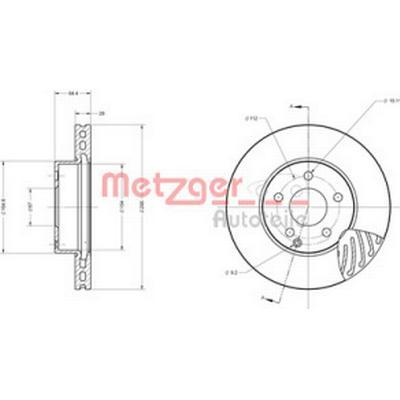 Metzger 6110153