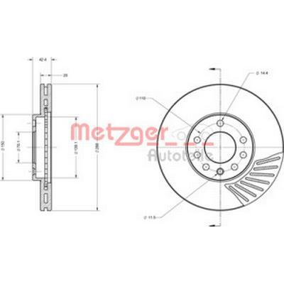 Metzger 6110164
