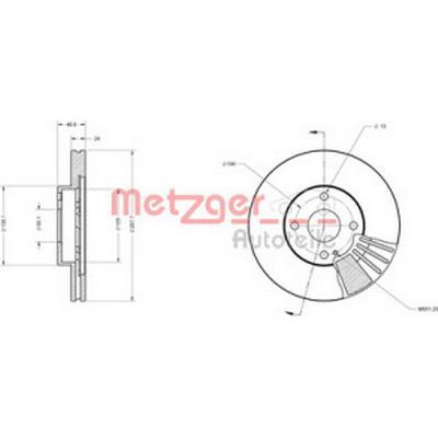 Metzger 6110373