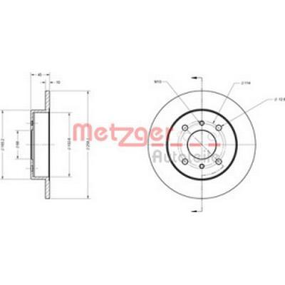 Metzger 6110139
