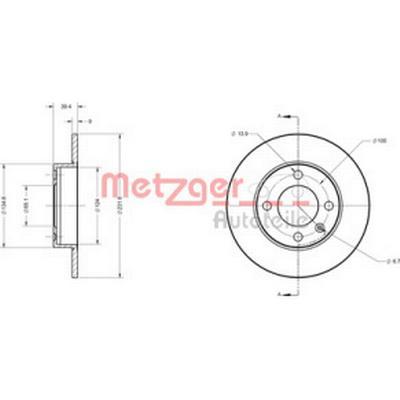 Metzger 6110390