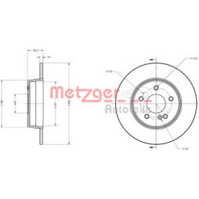 Metzger 6110115