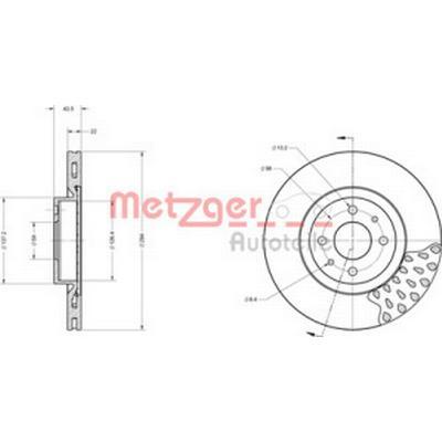 Metzger 6110098
