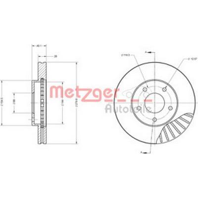 Metzger 6110132
