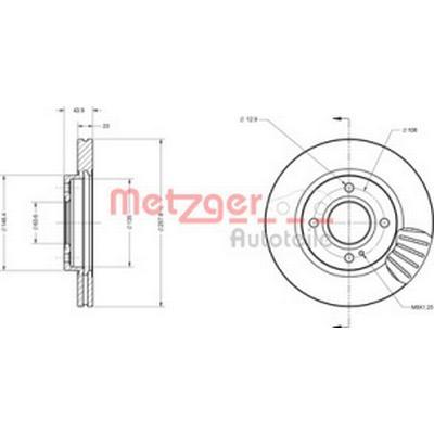 Metzger 6110074