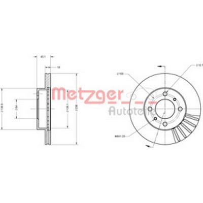 Metzger 6110143