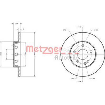 Metzger 6110116
