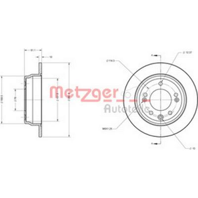 Metzger 6110107