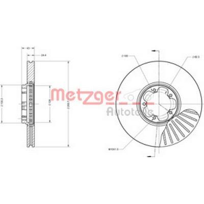Metzger 6110405