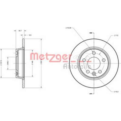 Metzger 6110032
