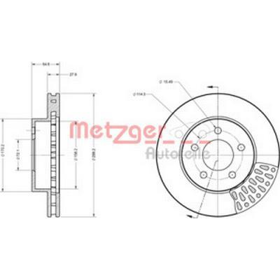 Metzger 6110560