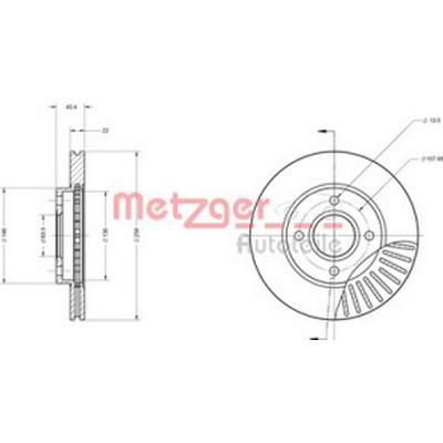 Metzger 6110586