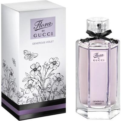 Gucci Flora Generous Violet Edt 100ml Compare Prices Pricerunner Uk