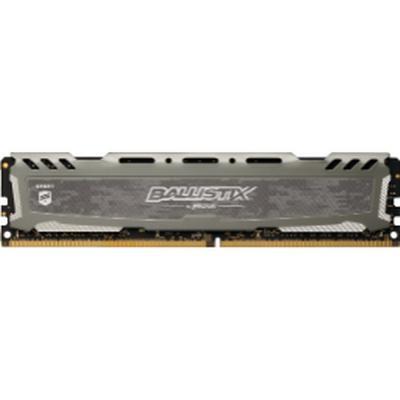 Crucial Ballistix Sport LT Gray DDR4 2666MHz 8GB (BLS8G4D26BFSBK)