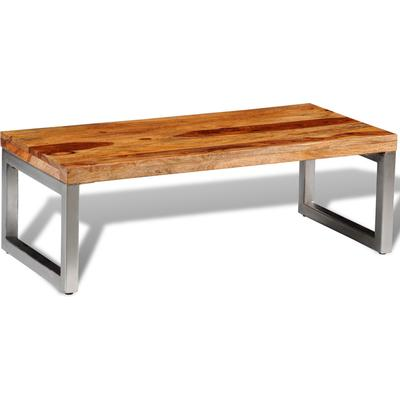 vidaXL 242124 Sheshamträ Coffee Table Soffbord
