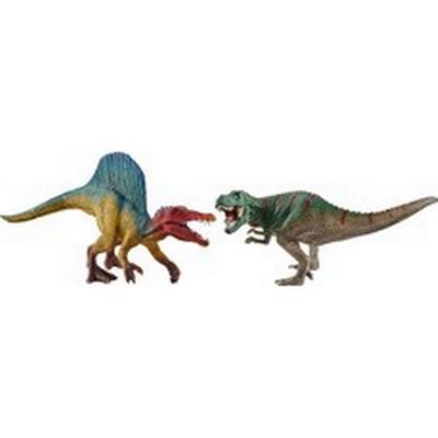 Schleich Spinosaurus & T-rex Small 41455