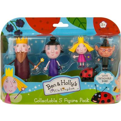 Character Ben & Holly 5 Figure Pack