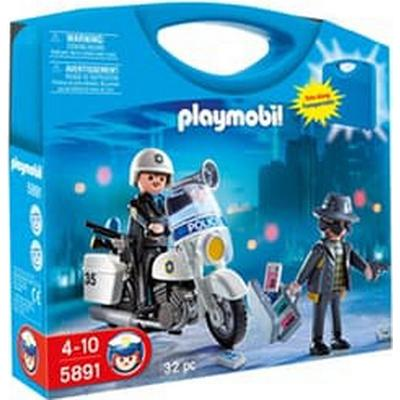 Playmobil Police Carry Case Set 5891