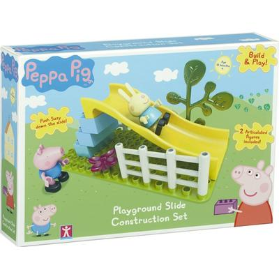 Character Peppa Pig Construction Toys Playground Slide Set