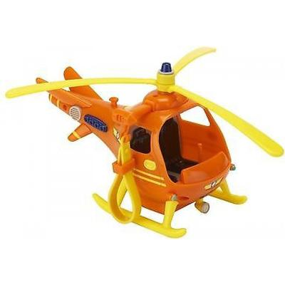 Character Fireman Sam Vehicle & Accessory Set Helicopter Hook