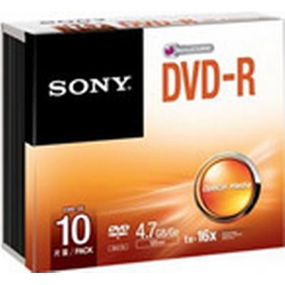 Sony DVD-R 4.7GB 16x Slimcase 10-Pack
