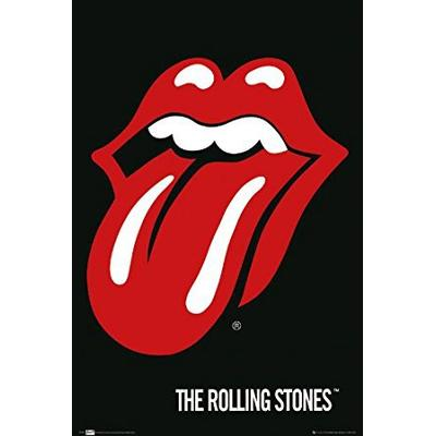 GB Eye The Rolling Stones Lips Maxi Poster 61 x 91.5cm Affisch