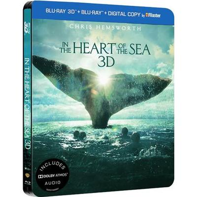 In the heart of the sea 3D: Steelbook (Blu-ray 3D + Blu-ray) (3D Blu-Ray 2015)