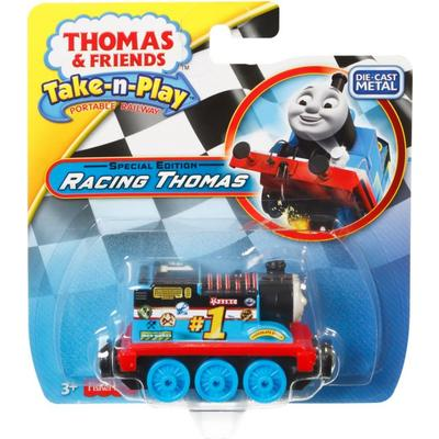 Fisher Price Thomas & Friends Take N Play Special Edition Racing Thomas