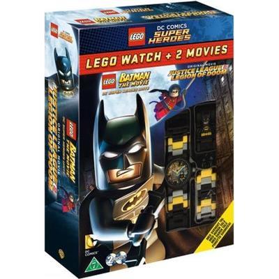 Lego Superheroes x 2 + Batman watch (2DVD) (DVD 2015)