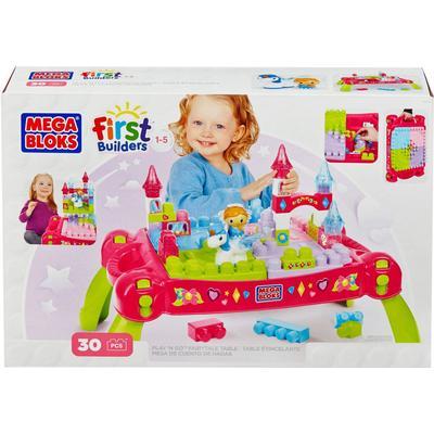 Mega Bloks First Builders Play n Go Fairytale Table