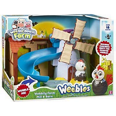 Character Weebledown Farm Toys Wobbily Farm Mill & Barn