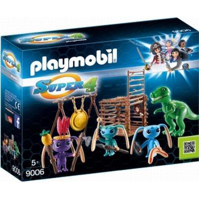 Playmobil Alien Warrior with T-Rex Trap 9006