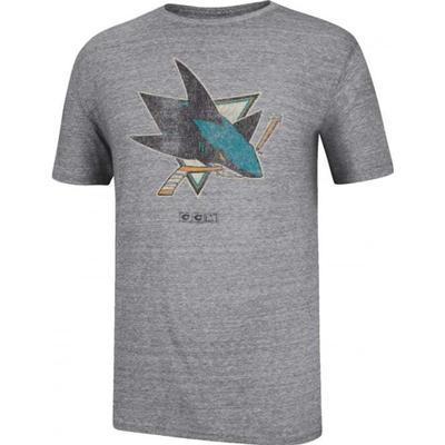 CCM San Jose Sharks Bigger Logo T-Shirt