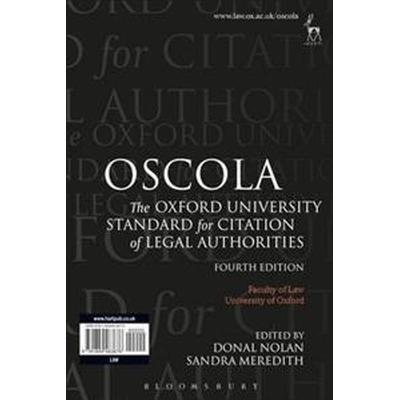 Oscola - the oxford university standard for citation of legal authorities (Pocket, 2012)