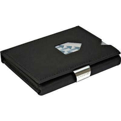 Exentri Nubuck Leather Wallet - Black (EX 019)