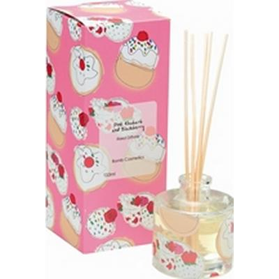 Bomb Cosmetics Reed Diffuser Pink Rhubarb & Blackberry 120ml