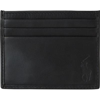 Ralph Lauren Leather Card Case - Black (120472456)