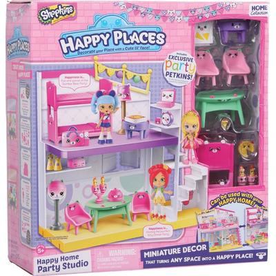 Moose Shopkins Happy Places Happy Home Party Studio