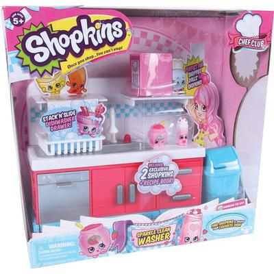 Moose Shopkins Chef Club Sparkle Clean Washer