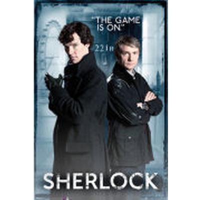 GB Eye Sherlock Maxi 61x91.5cm Door Affisch