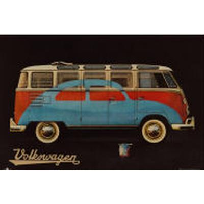 GB Eye VW Camper Paint Advert Maxi 61x91.5cm Affisch
