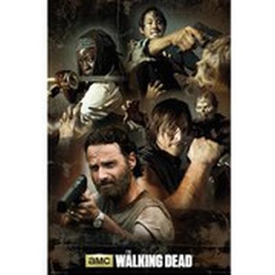 GB Eye The Walking Dead Collage Maxi 61x91.5cm Affisch