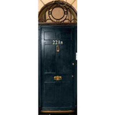 GB Eye Sherlock 221B Door 53x158cm Affisch