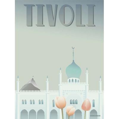 Vissevasse Tivoli Nimb 30x40cm Affisch