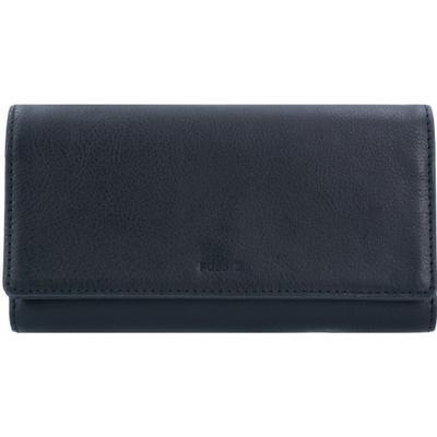 Fossil Emma RFID Flap Clutch - Black (SL7155P)